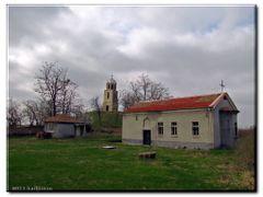 Храм Св.пророк Илия - с.Бъдеще by <b>hadjiivan</b> ( a Panoramio image )
