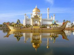 Golden mosque by <b>robiul alam</b> ( a Panoramio image )