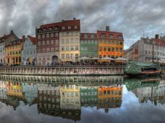 Kopenhaga, Nyhavn, Honorable Mention, Contest April 2011 by <b>vtgbart</b> ( a Panoramio image )