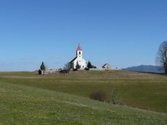 Quella Chiesetta nella prateria - Dedicata a Minusca by <b>MarioTs</b> ( a Panoramio image )