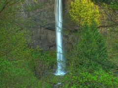 Spring Time at Latourell Falls in the Columbia River Gorge Orego by <b>© Michael Hatten http://www.sacred-earth-studios.com</b> ( a Panoramio image )