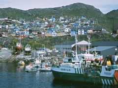 Qaqortoq Harbour by <b>Dirk Jenrich</b> ( a Panoramio image )
