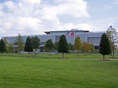 Clinton Presidential Library in Little Rock, AR by <b>© LK Kelley</b> ( a Panoramio image )