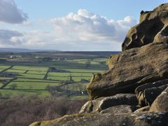 View from Brimham Rocks, Yorkshire by <b>ellyball</b> ( a Panoramio image )
