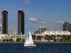 Convention Center, San Diego, California by <b>davidcmc58</b> ( a Panoramio image )