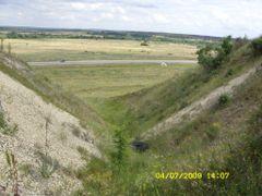 вид оврага вниз by <b>sandr13</b> ( a Panoramio image )