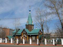 Храм святой блаженной Ксении Петербургской by <b>roditel</b> ( a Panoramio image )
