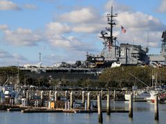 USS Midway Museum, San Diego, California by <b>davidcmc58</b> ( a Panoramio image )