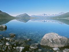 Tasersuaq, looking West I by <b>Dirk Jenrich</b> ( a Panoramio image )