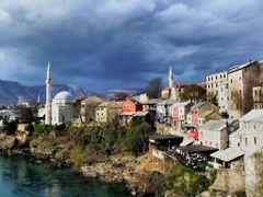 Old town Mostar -Tarihi kopruden bir goruntu by <b>Ahmet Bekir</b> ( a Panoramio image )