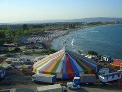 "vom Blk. ""Festa Panorama"" Neu-Nessebar, auf Sunny-Beach by <b>© barbara blue, Germany</b> ( a Panoramio image )"