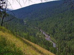 Nighniy Kumyr river-valley. Долина реки Нижний Кумыр. by <b>fly-by</b> ( a Panoramio image )