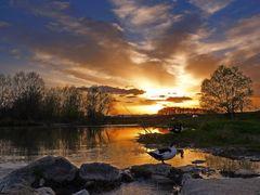 Kolubara - sunset by <b>?or?e Grujicic</b> ( a Panoramio image )