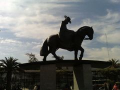 MONUMENTO A MANUEL RODRIGUEZ by <b>ida carrasco</b> ( a Panoramio image )