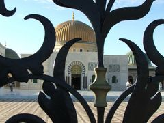 Wrought iron gates at Bouguiba Mausoleum, Monastir by <b>John Goodall</b> ( a Panoramio image )