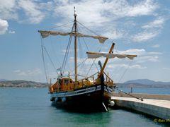 Croatia. Sibenik. A sailing ship. Хорватия. Шибеник. Парусное су by <b>Buts_YV</b> ( a Panoramio image )