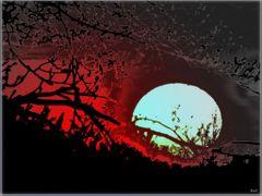*Sunrise* - Art by <b>ka9894</b> ( a Panoramio image )