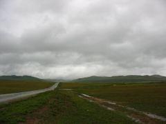 дорога из Дзунхары/road to Dzuunharaa by <b>grikuz</b> ( a Panoramio image )