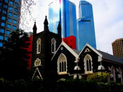 OLD CHURCH IN MELBOURNE by <b>australien67h</b> ( a Panoramio image )