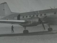 Iljuschin IL-14 before the crash on 28.06.1969 by <b>Willi P.</b> ( a Panoramio image )
