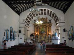 Inside the church in Regla, Havana by <b>Eivind Friedricksen</b> ( a Panoramio image )