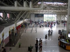 Jose Marti International Airport, Havana. Check-in area for fore by <b>Eivind Friedricksen</b> ( a Panoramio image )