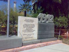 Memoriali Flamurit by <b>jokodo</b> ( a Panoramio image )