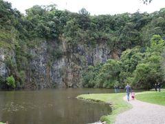 Lago e antiga pedreira da Unilivre - Universidade Livre do Meio  by <b>Paulo Yuji Takarada</b> ( a Panoramio image )