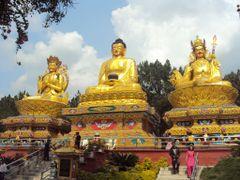 NEPAL  STATUE OF THE FIRST WORLD PEACE AMBASSADOR LORD BUDDHA KA by <b>Sanjaya poudyal *sp*</b> ( a Panoramio image )
