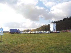Grenzturm mit Ost-Fahrzeugen by <b>Harald Spiegel</b> ( a Panoramio image )