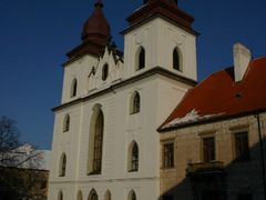 "Baroque west facade, St Procopius"" Basilica, Trebic, Moravia, Cz by <b>MBagyinszky</b> ( a Panoramio image )"