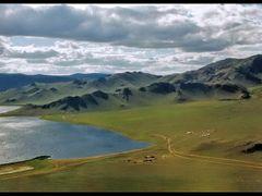 Horgo - Tsagaan Nuur  by <b>fiedziu</b> ( a Panoramio image )
