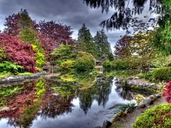 Japanese Garden in Royal Roads University by <b>Wiley1</b> ( a Panoramio image )
