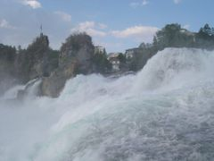 Schaffhausen, Rhine Falls by <b>Nicola e Pina Europa 2003</b> ( a Panoramio image )