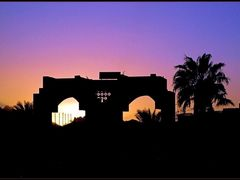 Egyptian silhouettes by <b>uni*</b> ( a Panoramio image )