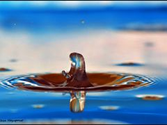 Scream of Water Drop by <b>Reza H</b> ( a Panoramio image )