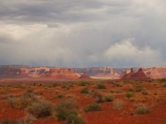 Eastern end of the Valley of the Gods. by <b>not1word</b> ( a Panoramio image )