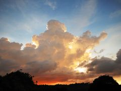 Sunset Clouds by <b>?? ( tony yun )</b> ( a Panoramio image )