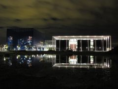 """""""Danish Broadcasting Headquarters (DR-Byen) by Night"""" - ?restad, by <b>Jan Sognnes</b> ( a Panoramio image )"""