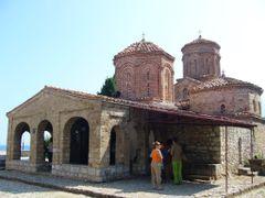 St. Naum. The monastery. by <b>Nikolay Denev</b> ( a Panoramio image )