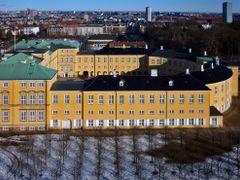 Frederiksberg Castle. View from tower in Copenhagen Zoo. by <b>Finn Lyngesen flfoto.dk</b> ( a Panoramio image )