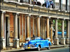 Habana -  City of Columns and old cars - This is Cuba - [By Chio by <b>Stathis Chionidis</b> ( a Panoramio image )