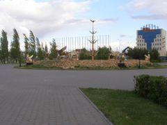 Центральная композиция парка / Park unseen beasts by <b>Сергей Алесковский</b> ( a Panoramio image )