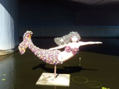 Norfolk - Princess Azalea, the floral mermaid in front of the Na by <b>Chinappi</b> ( a Panoramio image )