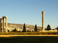 Athens, the temple of Olympian Zeus - JUNE 2011 CONTEST. by <b>Christos Theodorou</b> ( a Panoramio image )