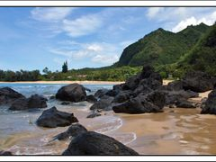 Ha'ena State Park Postcard by <b>MartyLeeB</b> ( a Panoramio image )