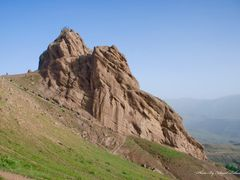 alamout castle  - 2 by <b>Saeed  Rahnama</b> ( a Panoramio image )