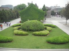 Garden @ Wild Goose Pagoda temple by <b>Dr.Azzouqa</b> ( a Panoramio image )