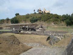 Ruinas Cholula, Edif. 5 by <b>RS-Camaleon</b> ( a Panoramio image )