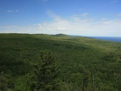 View from Tofte Peak looking ENE by <b>Jim Moore</b> ( a Panoramio image )